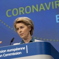 Photo 152 European Commission president Ursula von der Leyen apologised to Italy for letting it down (Getty)